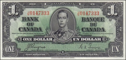 1937 Series - $1 Notes