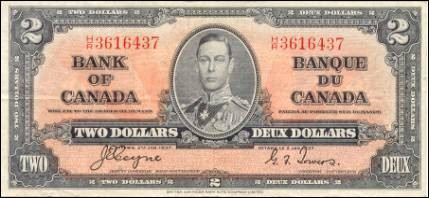 1937 Series - $2 Notes