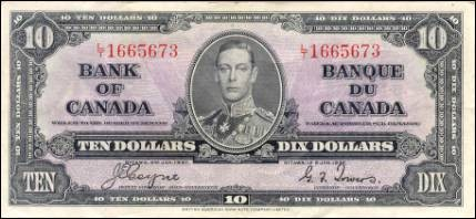1937 Series - $10 Notes