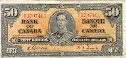 1937 Series - $50 Notes