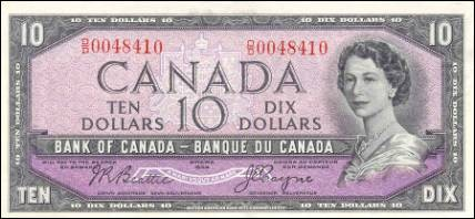 1954 Modified Series - $10 Notes