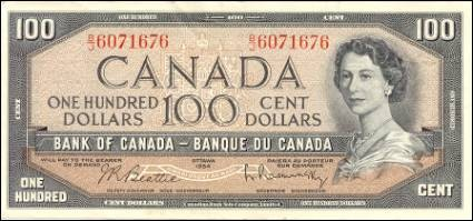 1954 Modified Series - $100 Notes