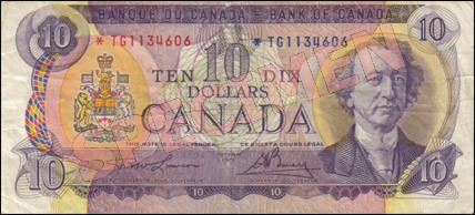1969-1975 Series - $10 Notes