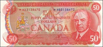 1969-1975 Series - $50 Notes