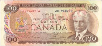 1969-1975 Series - $100 Notes