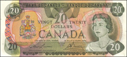 1979 Series - $20 Notes